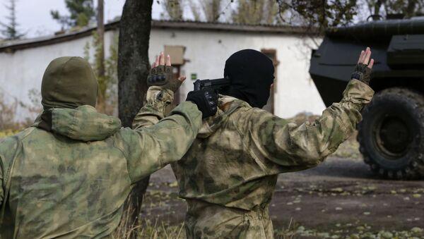 Příslušníci tajných služeb na Krymu - Sputnik Česká republika