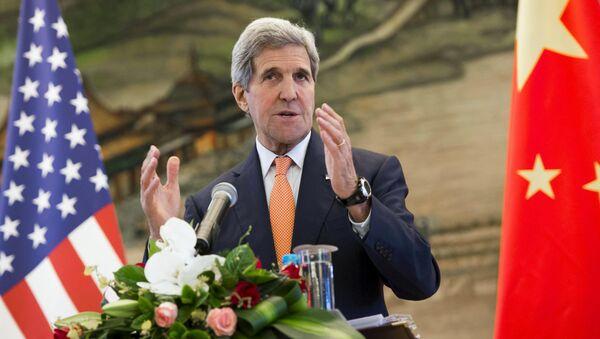 John Kerry v Pekingu - Sputnik Česká republika