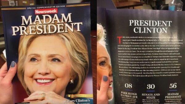Newsweek oznámil omylem vítězství Clintonové - Sputnik Česká republika