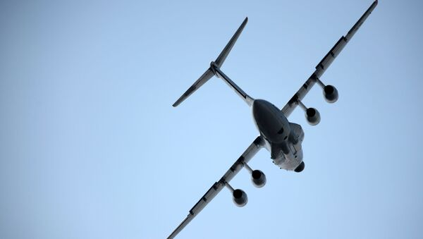 Letoun Il-76MD-90F - Sputnik Česká republika
