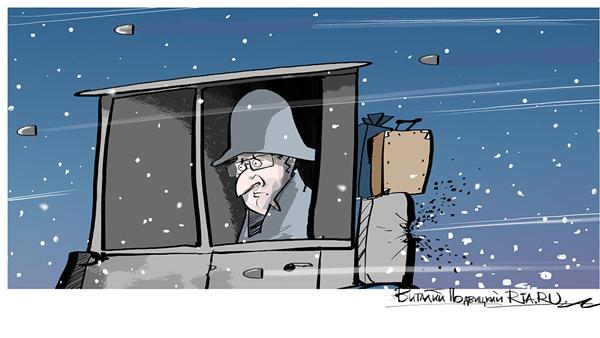 Zimní útok - Sputnik Česká republika