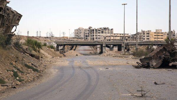 Humanitární koridor v syrském Aleppu - Sputnik Česká republika