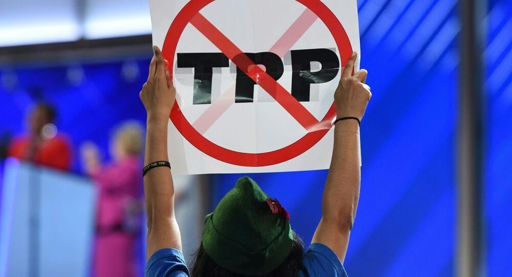 Protesty proti TPP