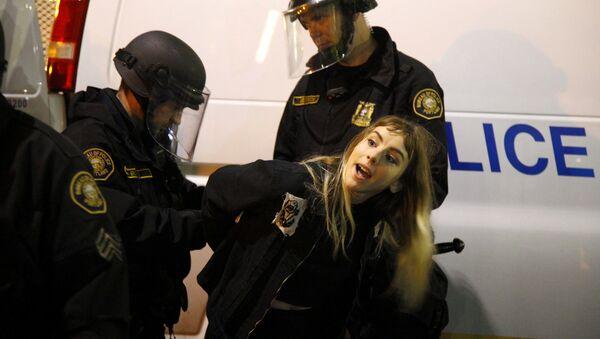 Demonstrace v Portlandu - Sputnik Česká republika