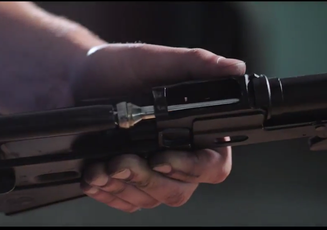 Bylo publikováno video střeleb z ukrajinské varianty Kalašnikovu