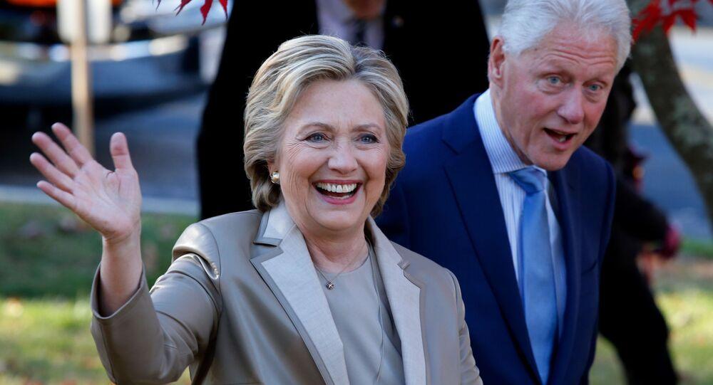 Bill a Hillary Clintonové