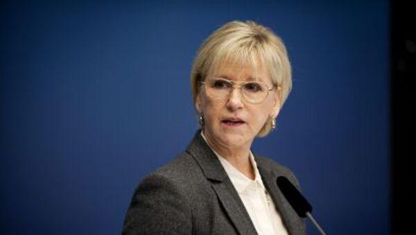 Švédská ministryně zahraničních věcí Margot Wallströmová - Sputnik Česká republika