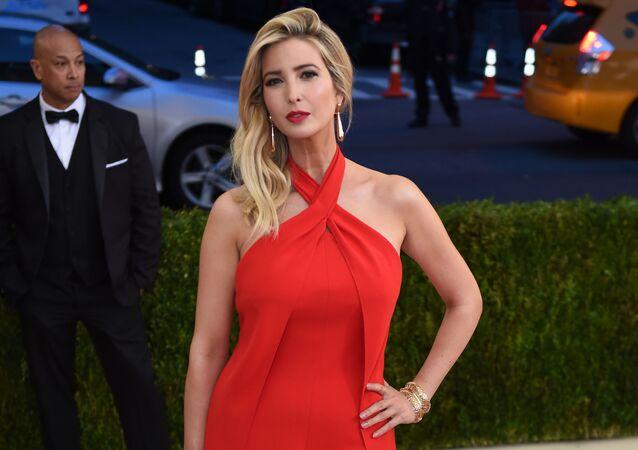 Dcera Donalda Trumpa Ivanka Trumpová. Archivní foto