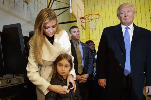 Ivanka Trumpová - prostě dcera - Sputnik Česká republika
