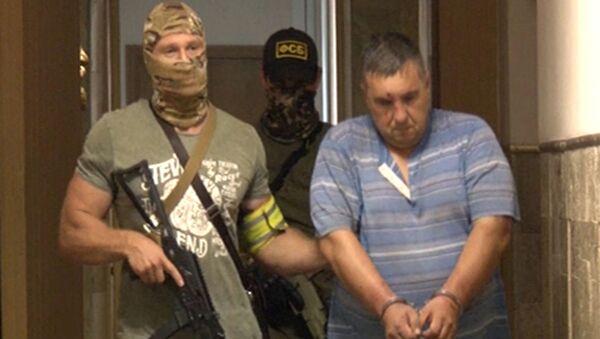 Účastník diverzní a teroristické skupiny MO Ukrajiny v Sevastopolu - Sputnik Česká republika