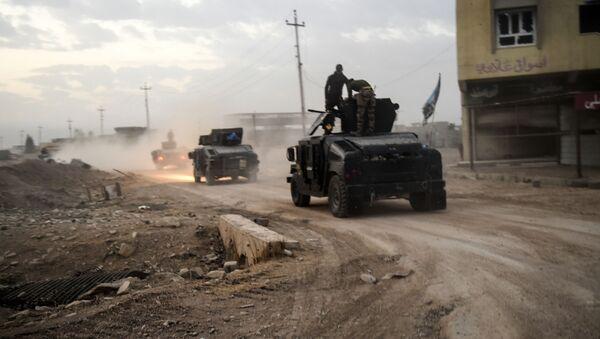 Iráčtí vojáci u Mosulu - Sputnik Česká republika