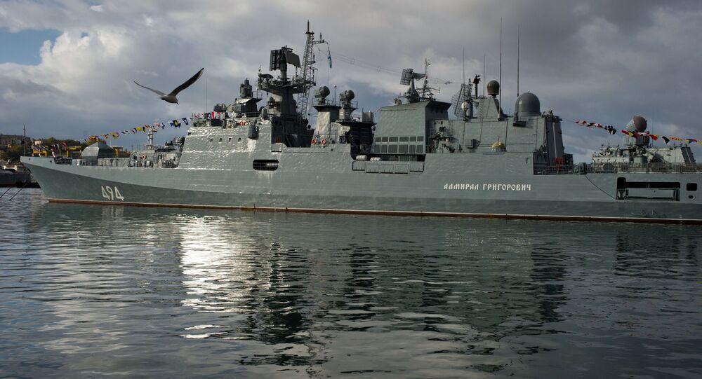 Ruská fregata Admirál Grigorovič