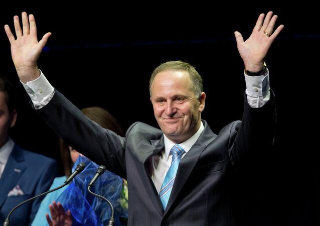 Premiér Nového Zélandu John Key