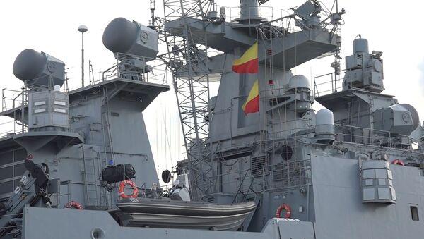 Fregata Admirál Grigorovič - Sputnik Česká republika