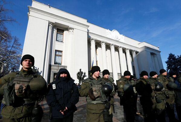 Protestní akce v Kyjevě - Sputnik Česká republika