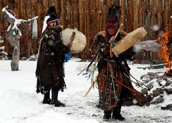 Tuvinští šamani - Sputnik Česká republika