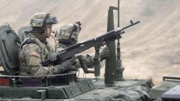 Američtí vojáci během cvičení v Lotyšsku. Archivní foto - Sputnik Česká republika