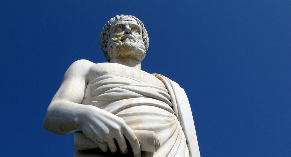 Socha Aristotela