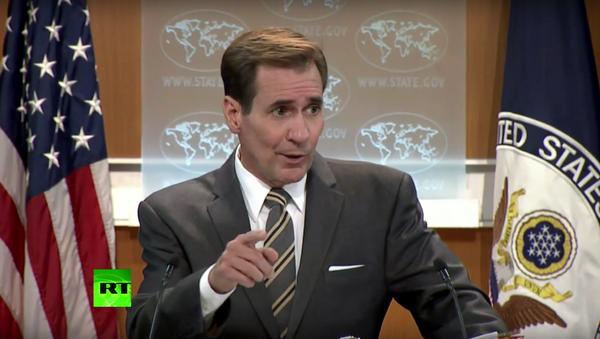 Mluvčího ministerstva zahraničí USA rozčílila otázka novinářky RT o Sýrii - Sputnik Česká republika