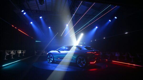 Jaguar I Pace - Sputnik Česká republika