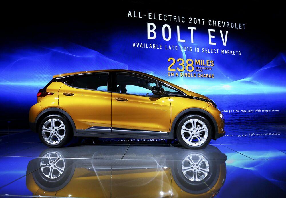 Chevrolet Bolt EV na mezinárodním autosalonu v Los Angeles