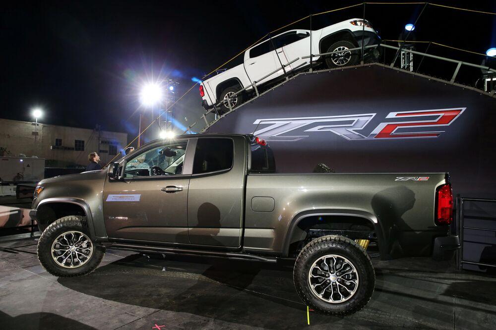 Chevy Colorado ZR2 na mezinárodním autosalonu v Los Angeles