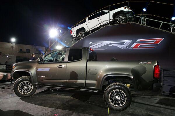 Chevy Colorado ZR2 na mezinárodním autosalonu v Los Angeles - Sputnik Česká republika