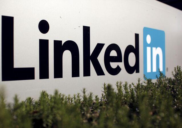 Logo společnosti LinkedIn