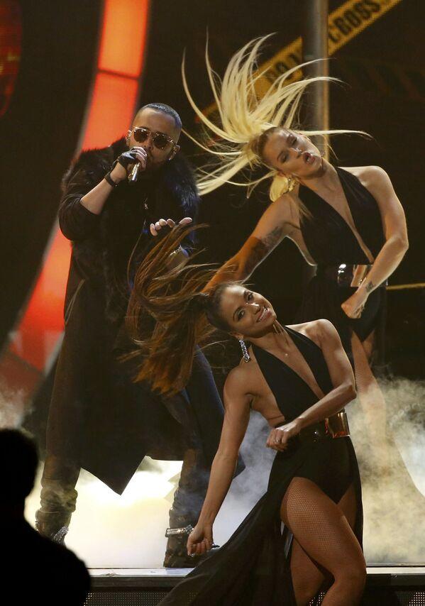 Zpěvák Yandel na každoročné ceremonii ceny  Latin Grammy Awards v Las Vegas - Sputnik Česká republika