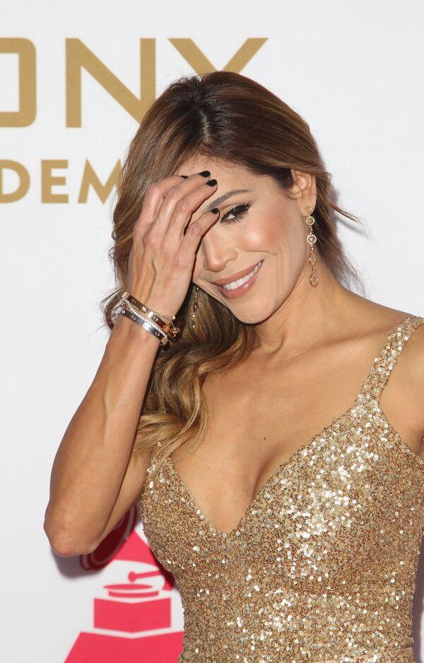 Zpěvačka Karla Martinez na každoročné ceremonii ceny  Latin Grammy Awards v Las Vegas - Sputnik Česká republika