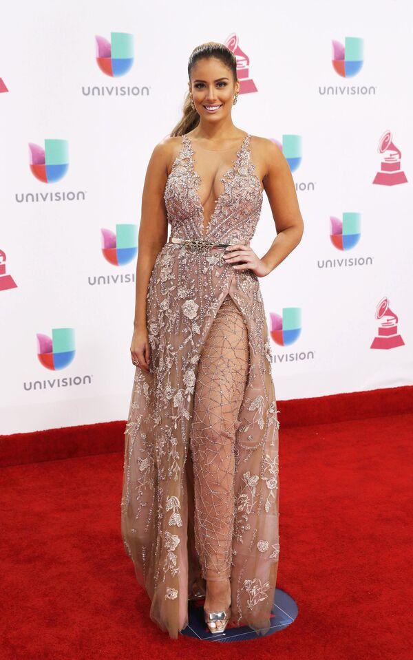Aleyda Ortiz na každoročné ceremonii ceny  Latin Grammy Awards v Las Vegas - Sputnik Česká republika