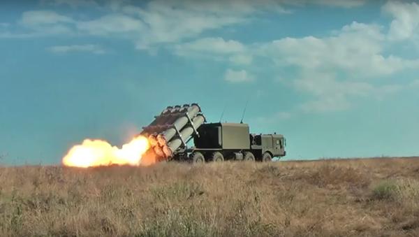 MO RF uveřejnilo video ke Dni raketových vojsk a dělostřelectva - Sputnik Česká republika