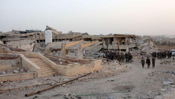 Zničená nemocnice v Aleppu - Sputnik Česká republika