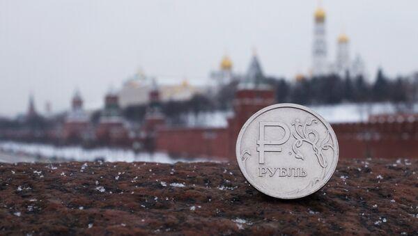 Ruský rubl na pozdí Kremlu - Sputnik Česká republika