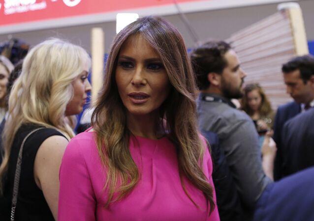 Manželka nově zvoleného amerického prezidenta Melania Trumpová