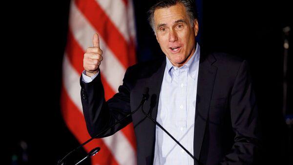 Former presidential candidate Mitt Romney - Sputnik Česká republika
