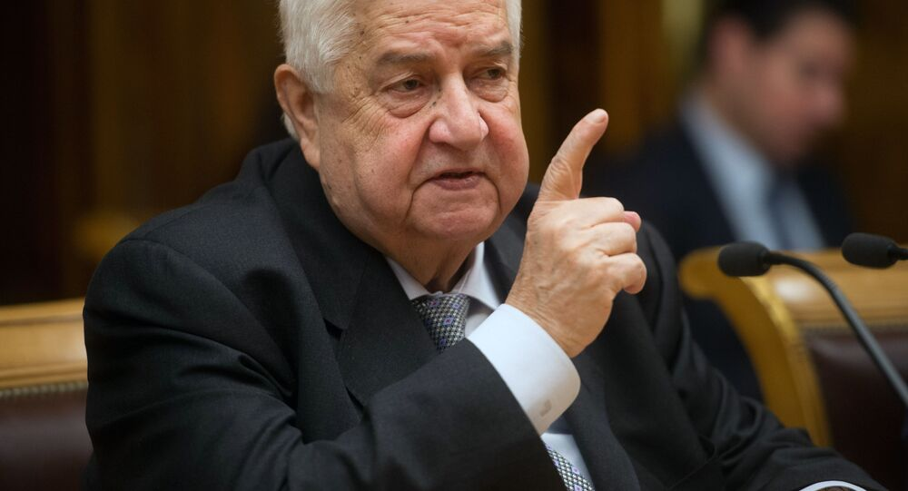 Syrský ministr zahraničí Walid Muallem