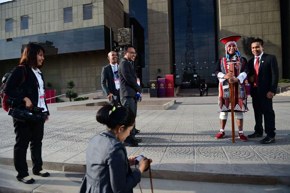 Hosté na mezinárodním summitu APEC v Peru