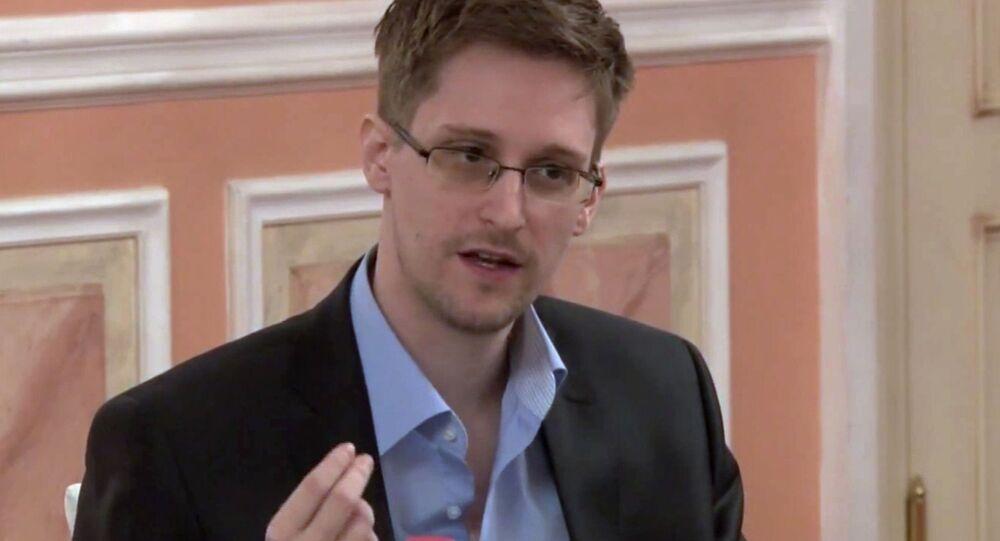 Bývalý pracovník Národní bezpečnostní agentury (NSA) USA Edward Snowden