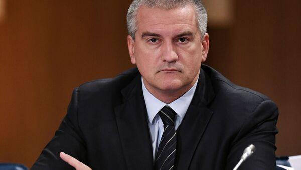 Nejvyšší představitel republiky Krym Sergej Aksjonov - Sputnik Česká republika