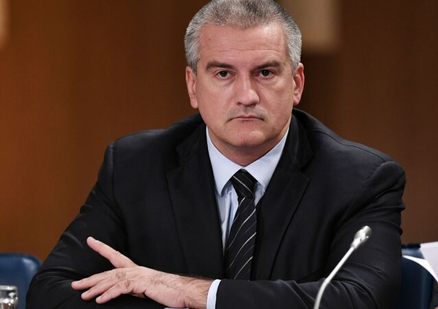Nejvyšší představitel republiky Krym Sergej Aksjonov