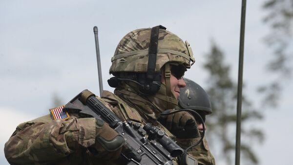 Cvičení Saber Strike 2016 v Estonsku - Sputnik Česká republika