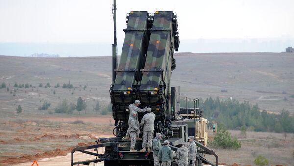 Američtí vojáci u systému Patriot - Sputnik Česká republika