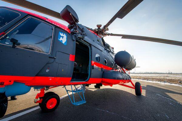 První vrtulník byl předán VKS Ruska před rokem a v průběhu roku dostala armáda ještě několik těchto strojů - Sputnik Česká republika