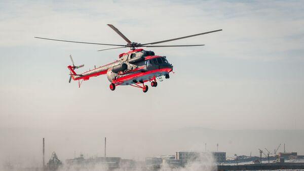 Arktický vrtulník Mi-8AMTŠ-VA - Sputnik Česká republika