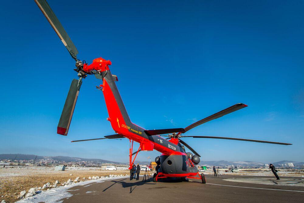O nákup ruských arktických vrtulníku má zájem Čína a ještě řada států