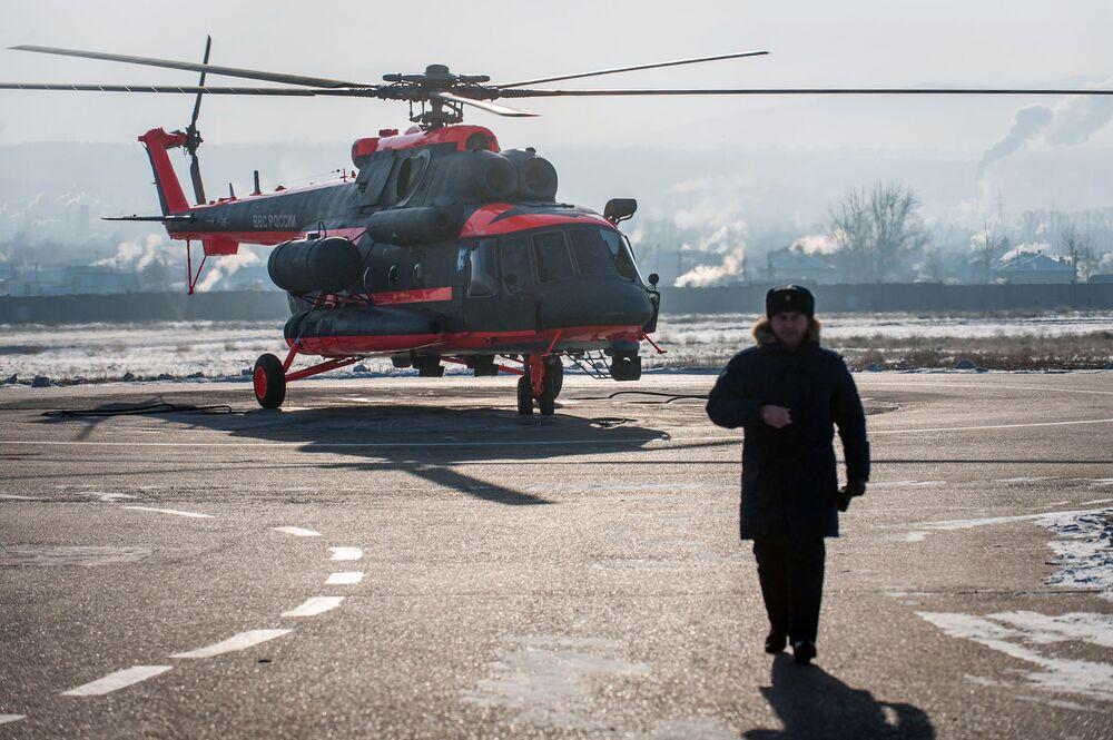 První vrtulník byl předán VKS Ruska před rokem a v průběhu roku dostala armáda ještě několik těchto strojů