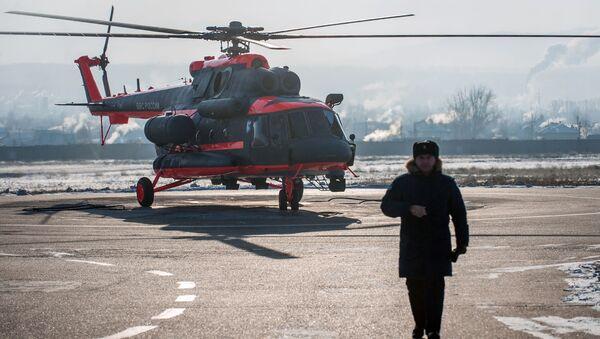 Zkoušky vrtulníku Mi-8AMTŠ-VA - Sputnik Česká republika