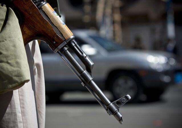 Avtomat Kalašnikova v Jemenu