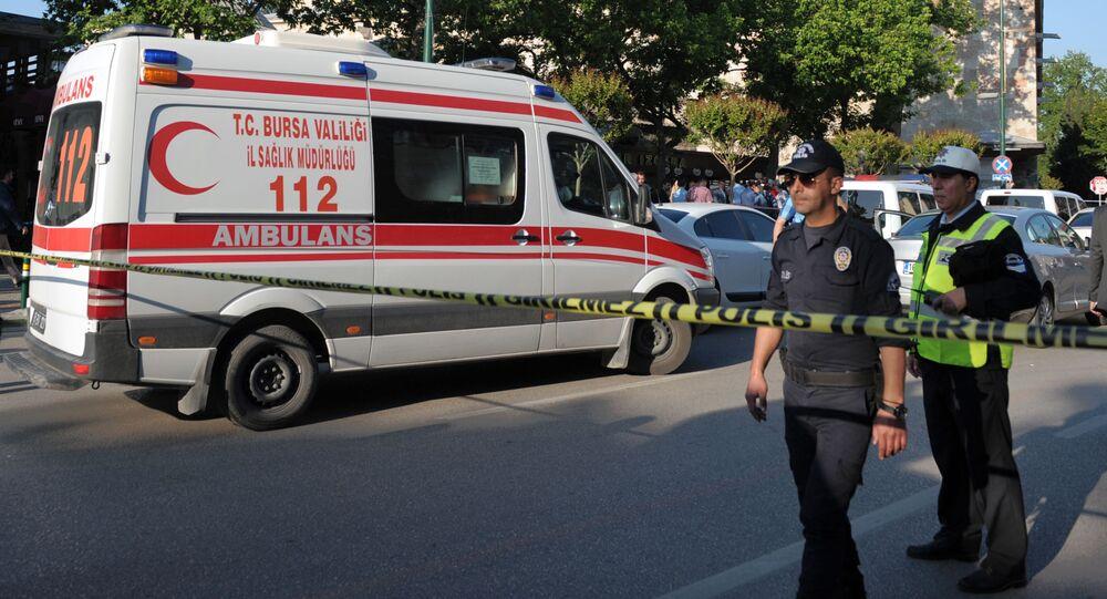 Záchranka v Turecku. Archivní foto